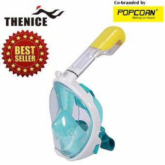 Thenice M2096G Full-Face Easybreath Snorkeling Mask With Camera Holder Size L/XL