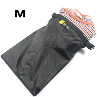 Three Pcs Waterproof Dry Storage Bag Pouch For Canoeing Rafting Floating Camping Black - picture 2