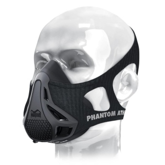 Training Mask [Original Black], Elevation Training Mask, FitnessMask, Workout Mask, Running Mask, Breathing Mask, Resistance Mask,Elevation Mask, Cardio Mask, Endurance Mask For Fitness - intl - 2