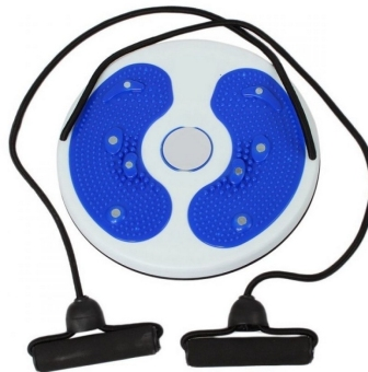 Training Massage Foot Twister Trimmer Board (Blue)