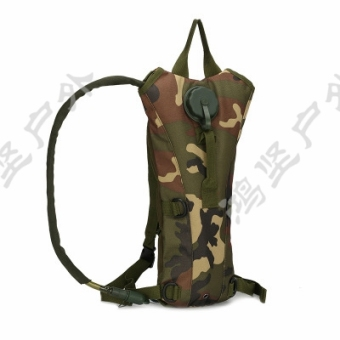 Travel riding mountaineering tactical liner water bag backpack