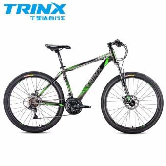 "TRINX M116 26"" Black/Green Alloy Mountain Bike"
