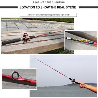 UINN Solid High Carbon Fiber Fishing Rod Pole Fishing Accessories 135cm random - 2