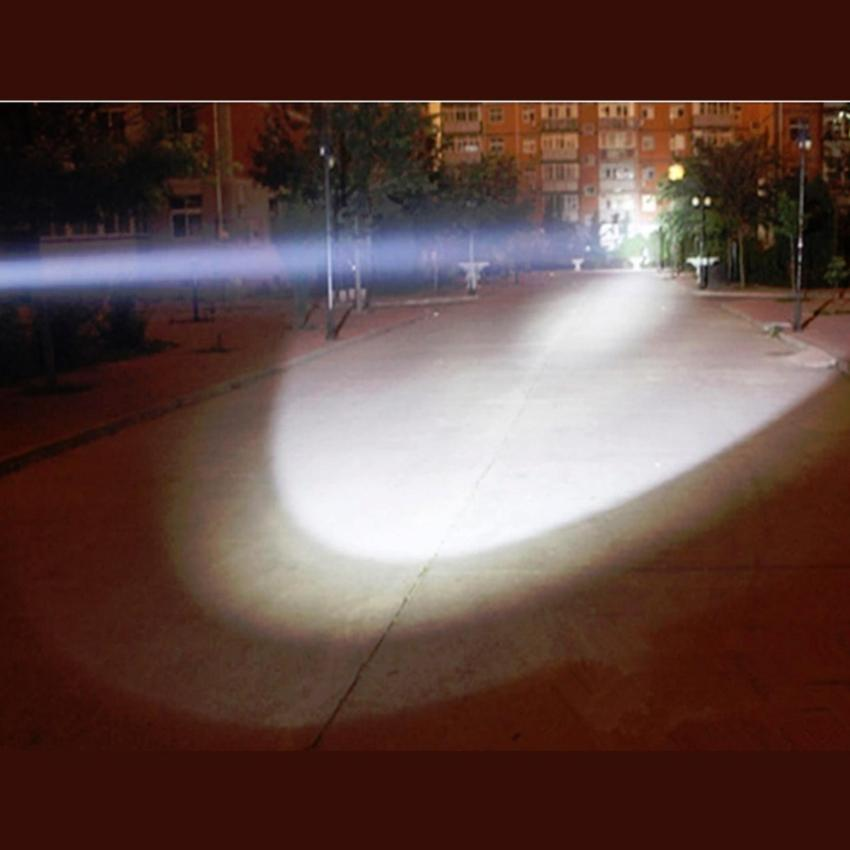 Ultra Bright CREE XML T6 LED Zoom Flashlight Splashproof Torch  5 Mode Bright
