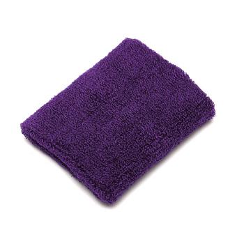 Unisex Soft Cotton Sports Sweat Band Wristband Terry Cloth Tennis Basketball New Purple