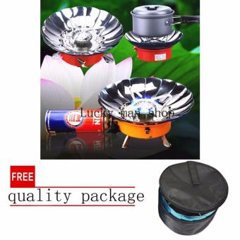 USA TOP ONE lazada and USA best selling Portable Windproof CampingButane Gas Stove with free quality package