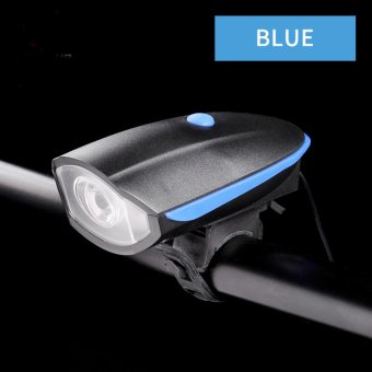 USB Rechargeable Waterproof Cycling Lights & Reflectors WithBike Bells & Horns - intl - 2