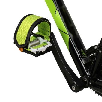 Vanker-Practical Nylon Safe Anti-slip Adhesive Straps Pedal ToeClip For Fixed Gear BMX MTB Mountain Bike Bicycle(Black) - intl - 4