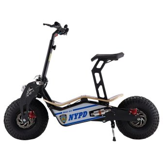 Velocifero MAD vers. NYPD 1600W ElectronicScooter/Bicycle/Skateboard All Three Together Price Philippines