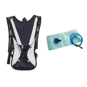 Water Hydration Back Pack #0082 (Black) with 2.0L Bladder