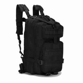 WATERPROOF ARMY BACKPACK / LAPTOP BAG / MENS BAG / AKL-B02 PIERSON[BLACK] Price Philippines