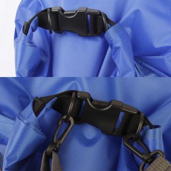 Waterproof Bag Dry Bag Shoulder Strap Backpack for Outdoor Sports L 33L Blue - picture 2