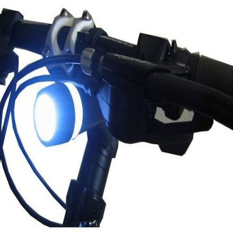 Waterproof LED Bike Head Flash Front Light Torch - 5