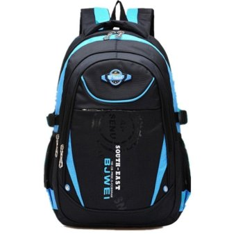 Waterproof School Bag Durable Travel Camping Backpack for Boys andGirls - intl