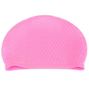 Waterproof Silicone Swim Long Hair Cap - INTL - picture 2
