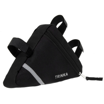 Waterproof Triangle Cycling Bike Front Tube Frame Pouch Saddle Bag - Intl - 4