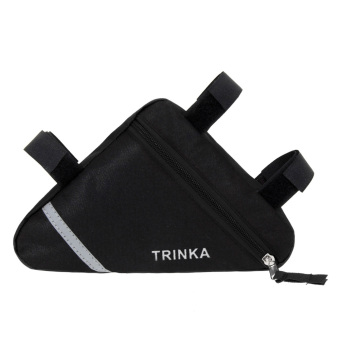 Waterproof Triangle Cycling Bike Front Tube Frame Pouch Saddle Bag - Intl