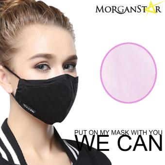 Wecan 2.5 pm dustproof plain cotton face masks with activated carbon Buy1Take1