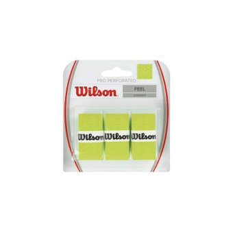 WILSON Overgrip Pro Perforated Standard-6 WRZ4005GR Green