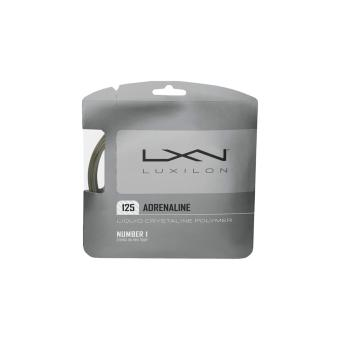 WILSON Tennis String Adrenaline 125 Gray (16L Ga (1.25Mm)-6) WRZ993800 (Gray)