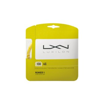WILSON Tennis String Luxilon 4G 130 (16L Ga (1.30Mm)-6) WRZ997112 (Gold)