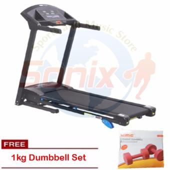 Winnow JX-628W Motorized Treadmill 1.5HP with 1kg Cement DumbellSet Price Philippines