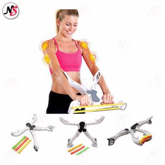 Wonder Arms Good Figure Fitness System Arm Upper Body Workout (White) - 2