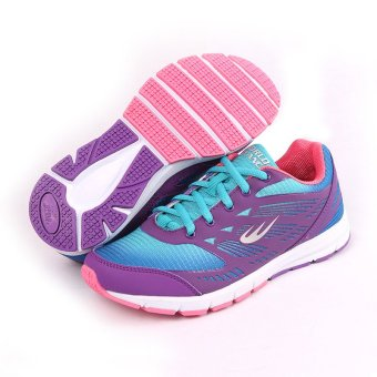 World Balance Endure L Running Shoes (Purple/Blue)