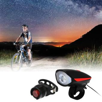 XCSOURCE Waterproof Bike Lights Set Bicycle LED Front and Rear Light Horn Set USB CS499 - intl