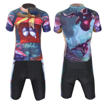 XINTOWN Men's Bicycle Jersey Short Set Gift Box Print - picture 2
