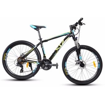 XiX X8 26 Mountain Bike (Black/Blue/Yellow)