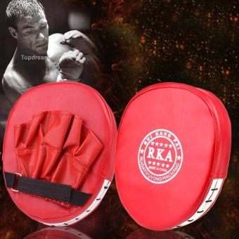Yidabo Fashion Boxing Mitt Training Target Focus Punch Pad Glove MMA Karate Muay Kick Kit