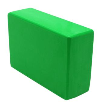 Yoga Brick Foam for Exercise and Health Fitness (Green)