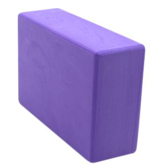 Yoga Brick Foam for Exercise and Health Fitness (Lavander) set of 2 - 4
