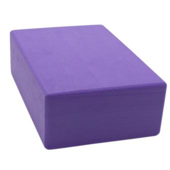 Yoga Brick Foam for Exercise and Health Fitness (Lavander) set of 2 - 3