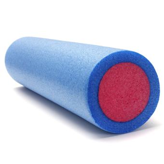 Yoga Grid Foam Roller Pilates Massage Exercise Fitness Gym (Pink)