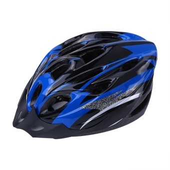 YOSOO 18 Holes Mountain Road Bike Unisex Adjustable Safety Helmet Blue - intl - 4