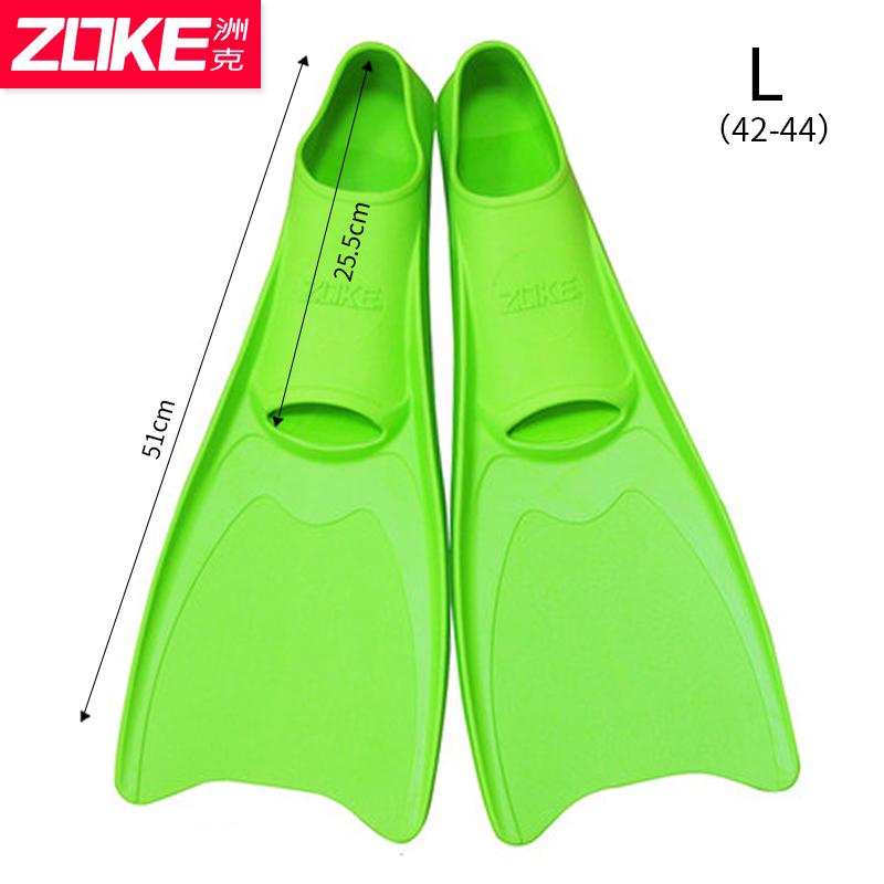 Zoke diviing training flippers children Duck Feet Fins