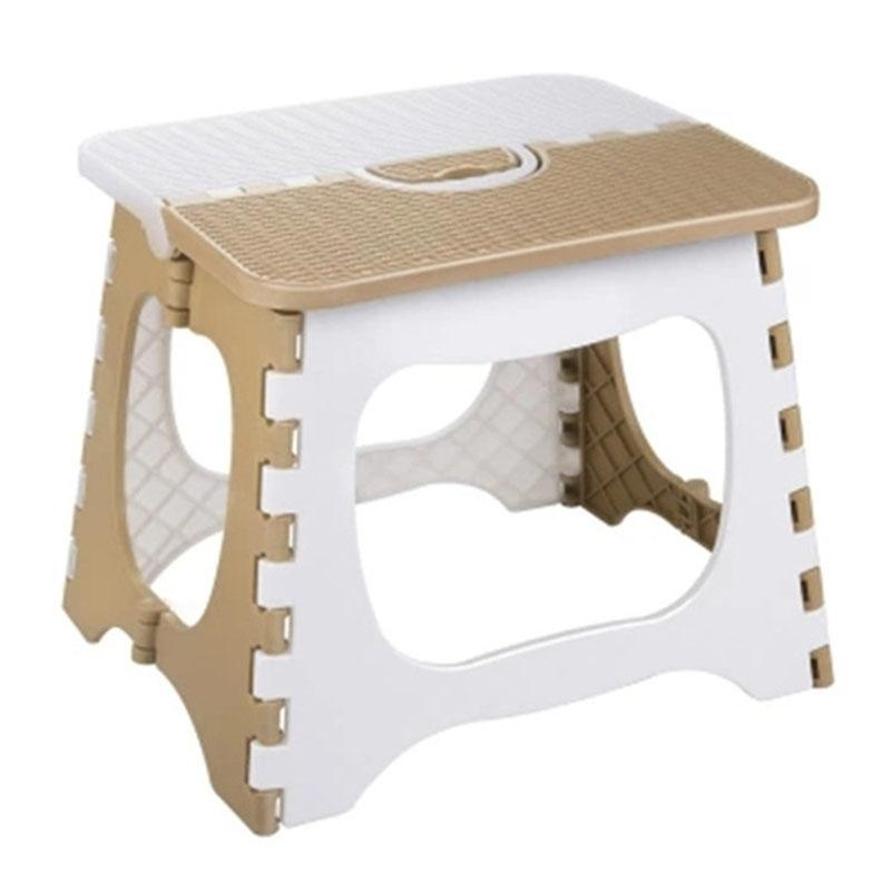 เช่าเก้าอี้ เชียงใหม่ Plastic Folding Stool Thickening Chair Portable Home Furniture Children Convenient Dining Stool