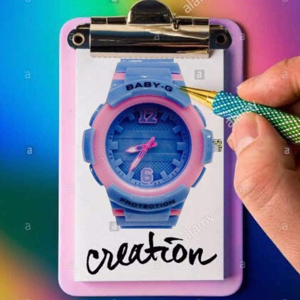 AMORELOVE Baby G Sports Watch Different Colors with free Box
