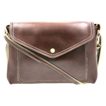 01S Women's High-Toned Sling Bag (Dark Brown) - picture 2