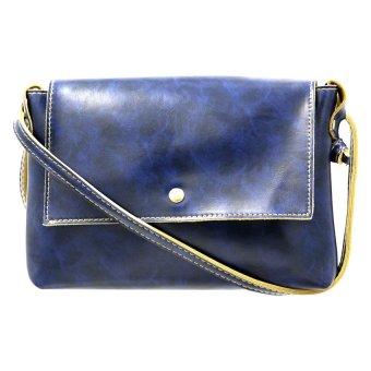 03S Women's High-Toned Sling Bag (Dark Blue)