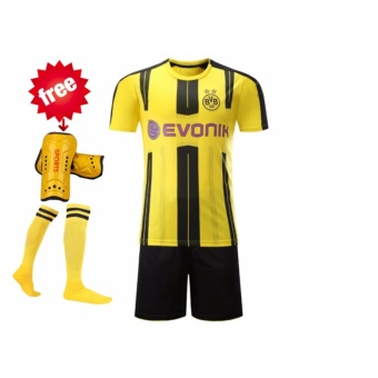 16-17 season Dortmund club football jersey soccer jersey with original brand logo - intl