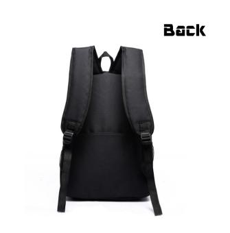 18.5inch Minecraft Logo Teenagers Backpacks Night-luminous Barcelona Travel Bags School Bag Shoulder Bags Gift for Boys Girls - intl - 3
