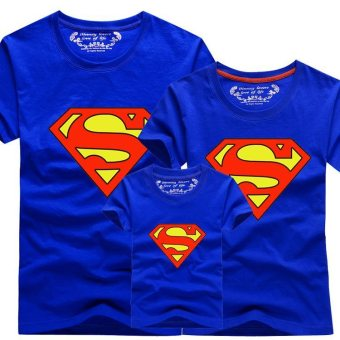 bd374dc3c2c0 (1PC Dad) Family Matching Clothes Outfit Men Superman T-Shirts - intl