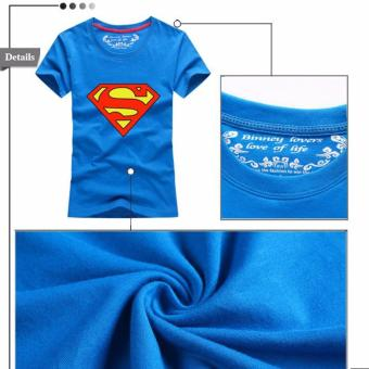 (1PC Price Mom)Superman Family Matching Outfits Mother Daughter Men Women Girls Boys T-Shirt Top Tee Clothes Clothing - intl - 3