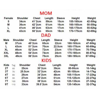 (1PC Price Mom)Superman Family Matching Outfits Mother Daughter Men Women Girls Boys T-Shirt Top Tee Clothes Clothing - intl - 2