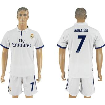 2016--2017 Real Madrid Football team home NO.7 Soccer Jersey suits- intl