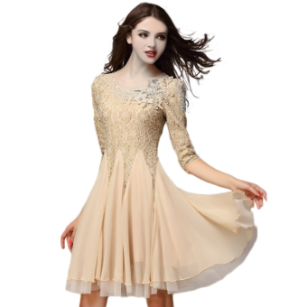 2016 Fashion New Summer Dress Party Dress High Quality - 2