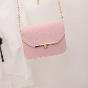 2016 new spring snake leather embossed fashion Women bag chainCrossbody Bag Brand Designer Messenger Bag Cute flap shoulder Bag -intl - 3